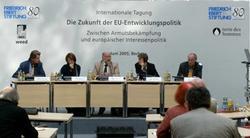 v.l.n.r.: A. Wijkman, F. Moreau, P. Eisenblätter, M. v. Reisen, J. Mackie