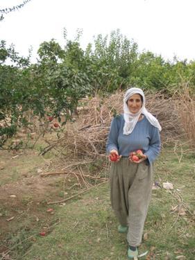 Frau in Hasankeyf