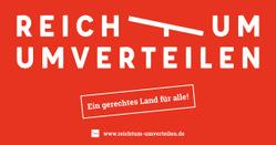 """Bündnis """"Reichtum umverteilen"""" gestartet"""
