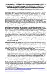 Kurzstellungnahme zur Überarbeitung des Geldwäschegesetzes