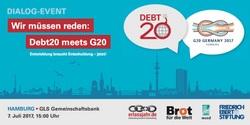 Wir müssen reden: Debt20 meets G20