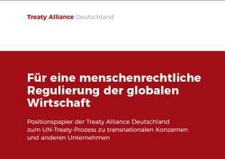 Menschenrechte brauchen Verbindlichkeit: Positionspapier zum UN-Treaty-Prozess