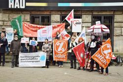 Aktion und Aktivitäten bei Koalitionsverhandlungen zu Steuergerechtigkeit