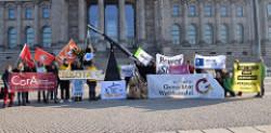 Kampagne: Menschenrechte schützen - Konzernklagen stoppen - Stop ISDS!
