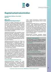 Hintergrundpapier: Kapitalverkehrskontrollen