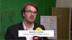 Unternehmensteuerreform: WEED bei n-tv