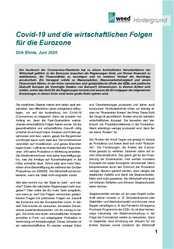 Hintergrund: Covid-19 und die wirtschaftlichen Folgen für die Eurozone