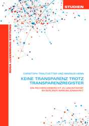 Studie: Keine Transparenz trotz Transparenzregister