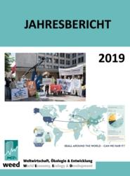 WEED Jahresbericht 2019