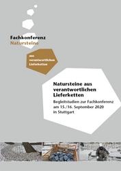 """Studie """"Natursteine aus verantwortlichen Lieferketten"""""""