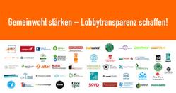 Wir unterstützen den Bündnisaufruf von LobbyControl für mehr Lobbytransparenz!