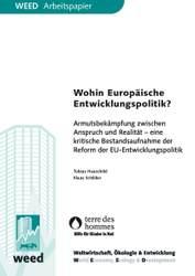 Neuerscheinung: Wohin Europäische Entwicklungspolitik?