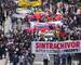 Demonstration in Kolumbien (Foto: Jochen Schüller)