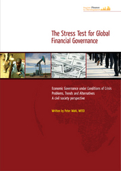 Broschüre: The Stress Test for Global Financial Governance (engl.)
