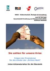 """Unterrichtsmaterial """"Finanzkrise und Entwicklungsländer"""""""