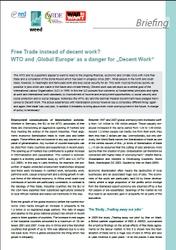 Factsheets on EU's trade policy