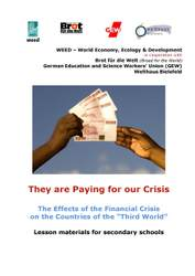 Financial Crisis & Development - Lesson Materials for Secondary Education