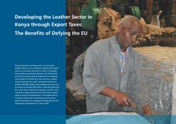 Case Study: Leather Sector in Kenya
