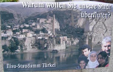 Züblin AG im Kreuzfeuer der Kritik wegen Ilisu-Staudamm