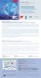 Konferenz: Zukunft der Besteuerung internationaler Konzerne - Konzepte für eine gerechtere Steuerpolitik