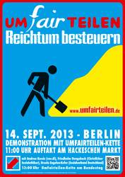 Demonstration: Umfairteilen