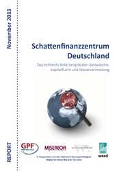 """Bericht """"Schattenfinanzzentrum Deutschland"""" und neuer Schattenfinanzindex"""