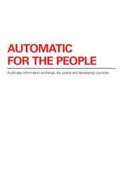 Briefing paper: Automatic for the people