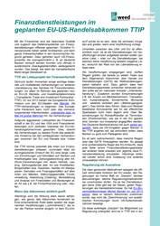 Infoblatt TTIP