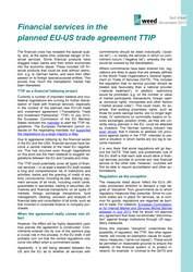 factsheet TTIP
