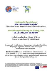 Multimedia-Ausstellung von LANDMARK in Pankow