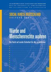 Neuerscheinung: Social Watch Report Deutschland 2007