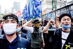 Samsung ArbeiterInnen streiken für ihr Recht unabhängige Gewerkschaften gründen zu dürfen