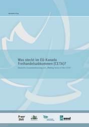 Positionspapier: Was steckt im EU-Kanada Freihandelsabkommen (CETA)?