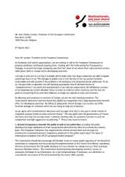 Offener Brief der Zivilgesellschaft zu Steuervermeidung von Unternehmen