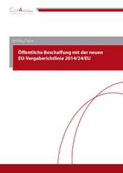 Briefing-Paper zur neuen EU-Vergaberichtlinie