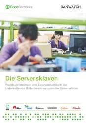 Bericht: Die Serversklaven