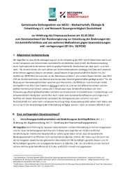 Anhörung im Bundestag zu Steuervermeidung von Unternehmen