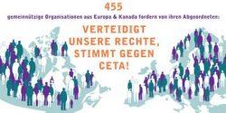 Zivilgesellschaft aus Europa und Kanada fordert: CETA muss abgelehnt  werden!