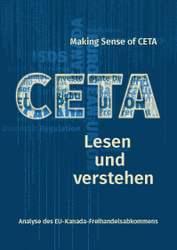Broschüre: Making Sense of CETA - CETA lesen und verstehen
