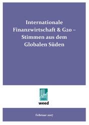 Internationale Finanzwirtschaft & G20 - Stimmen aus dem Globalen Süden