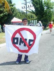 Anti-WTO-Protest in Cancun, 13.9.03
