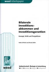 Bilaterale Investitionsabkommen und Investitionsgarantien
