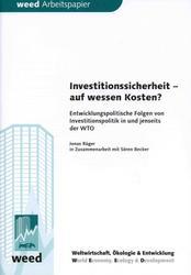 Neuerscheinung: Investitionssicherheit - auf wessen Kosten?